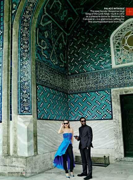 Kate Mossun İstanbul pozları! galerisi resim 1