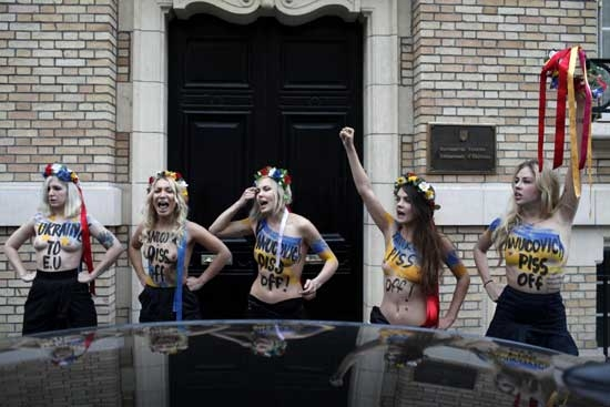 FEMENden sıradışı eylem galerisi resim 1