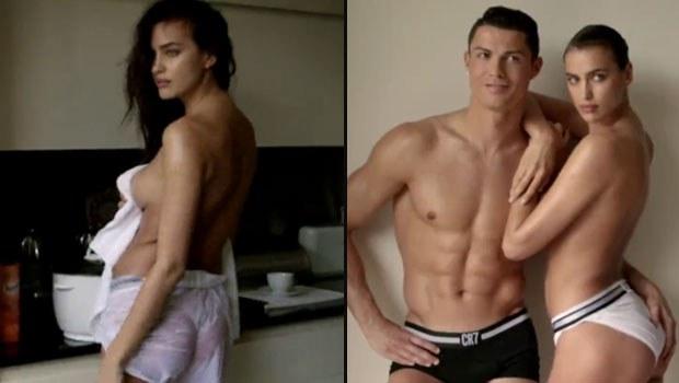 Ronaldo sevgilisini de aldı yanına... galerisi resim 1