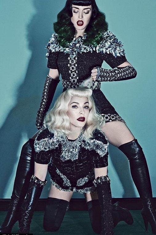 Katy Perry ve Madonnadan erotik pozlar! galerisi resim 1