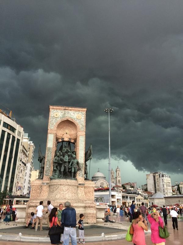 İstanbulda korkutan manzara! galerisi resim 1