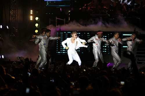 Justin Bieberın İstanbul konseri galerisi resim 1