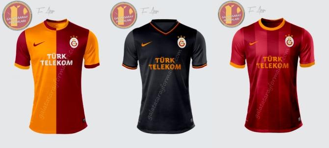 İşte Galatasarayın Yeni Formaları galerisi resim 1