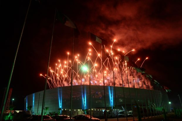 Mersin Akdeniz Olimpiyatları müthiş bir şölenle başladı galerisi resim 1