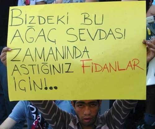 Gezi protestolarından unutulmaz kareler galerisi resim 1