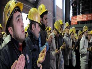 263 madenci için hüzünlü anma