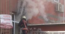 Avcılar'da 4 katlı atölyede yangın