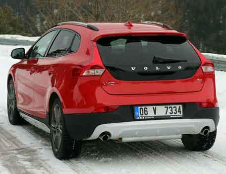 Volvonun yeni silahı V40