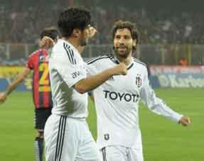 Beşiktaş Nobre ile güldü: 2-1