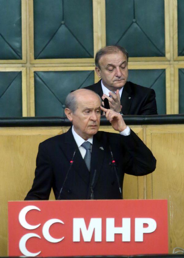 Bahçeliden Erdoğana şok sözler!
