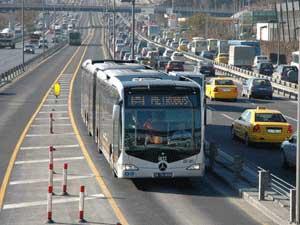 Metrobüs şoförüne standart geliyor