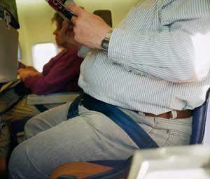Bu uçakta  yolcunun kilosu 1 dolar
