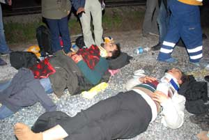 BDPliler kaza yaptı