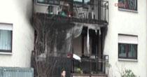 Almanyada Türk ailenin dairesinde yangın!