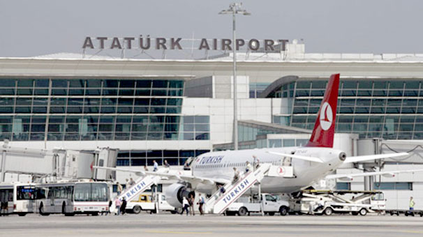 Atatürk Havalimanı'nda da büyük artış