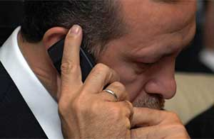 Erdoğanın görüşmeleri de sızdırıldı