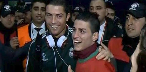 Adanalı Ronaldo muradına erdi!