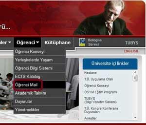 Trakya Üniversitesi internet sitesinden Atayı çıkardı