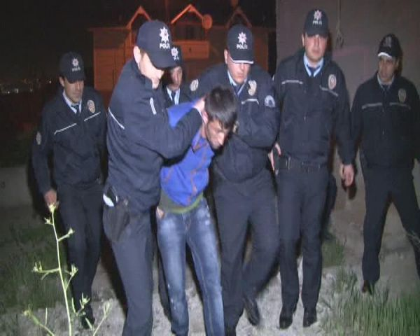 Onlar kaçtı, polis kovaladı!