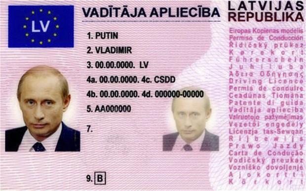 Sahte Putin trende yakalandı