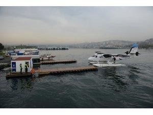 İstanbulda deniz uçağına yoğun ilgi