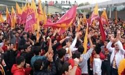 Galatasaraylılar TFFye yürüdü