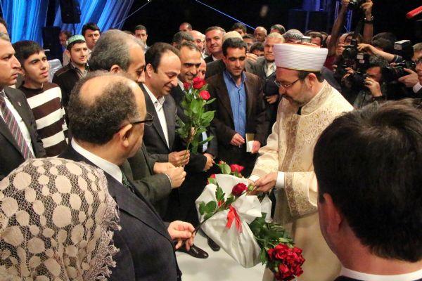 Diyanet İşleri Başkanı Kürtçe seslendi