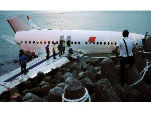 Denizden balık ağı değil uçağı çektiler