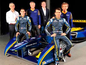 Renault, E.Dams-Renault Takımının İsim Sponsoru Oldu!