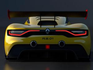 İşte Renault, R.S. 01 yarış otomobili