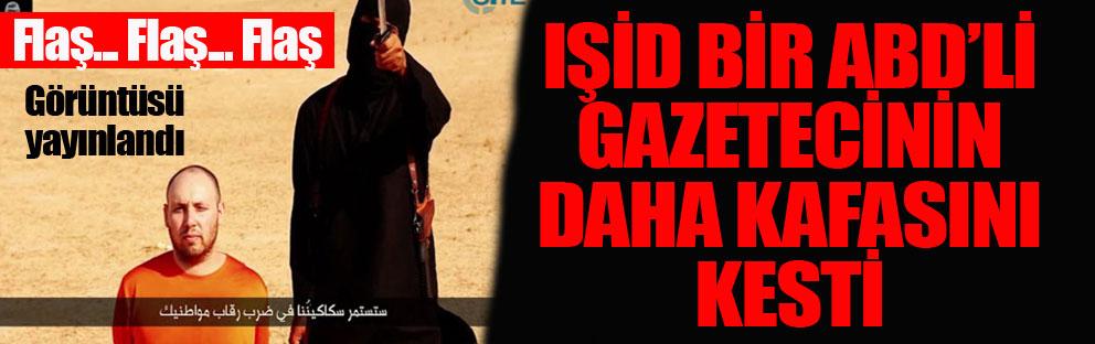 IŞİD bir Amerikalının daha kafasını kesti