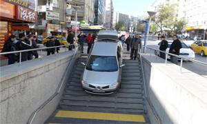 Metroyu otopark sanınca...
