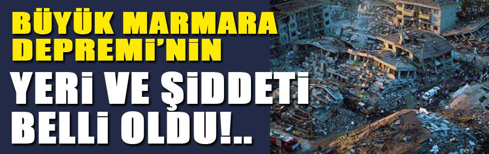 Büyük Marmara Depreminin yeri belli oldu!