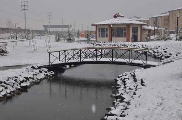 Nisanda kar sürprizi!