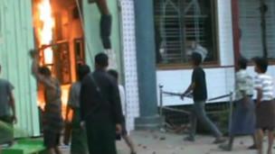 Myanmardaki dehşetin görüntüleri ortaya çıktı