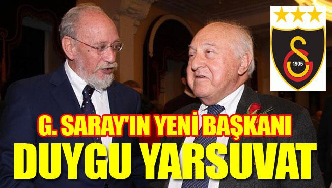 Galatasaray yeni başkanını seçti.