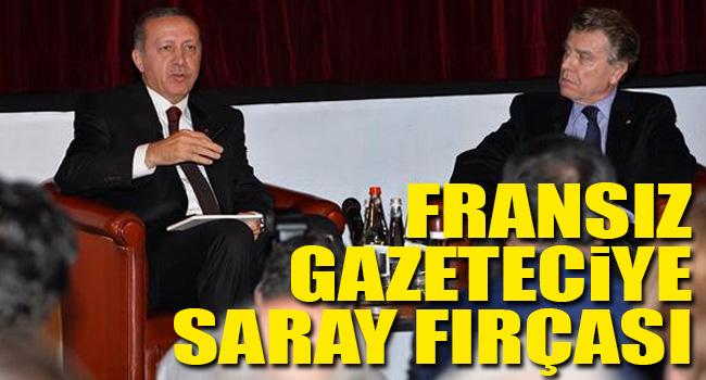 Erdoğandan muhabire Ak Saray fırçası