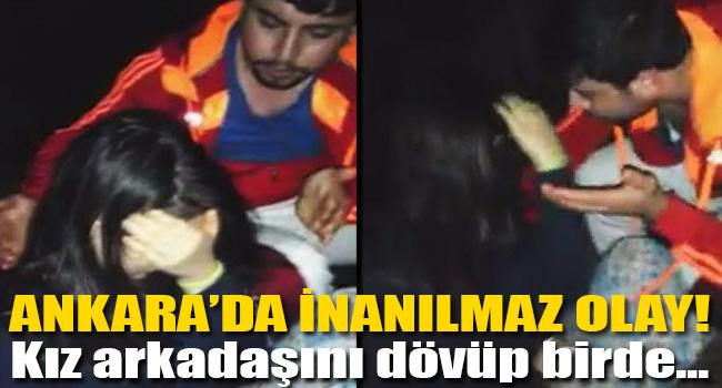Ankarada kan donduran olay!