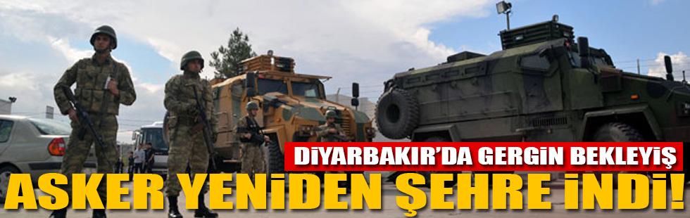 Diyarbakırda gergin bekleyiş!..