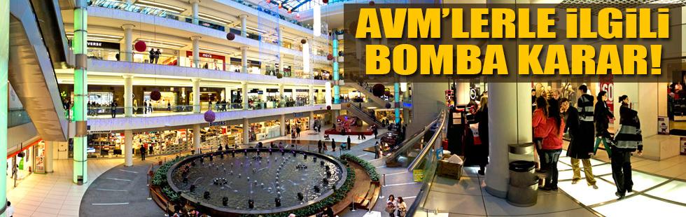 AVMlerle ilgili bomba karar