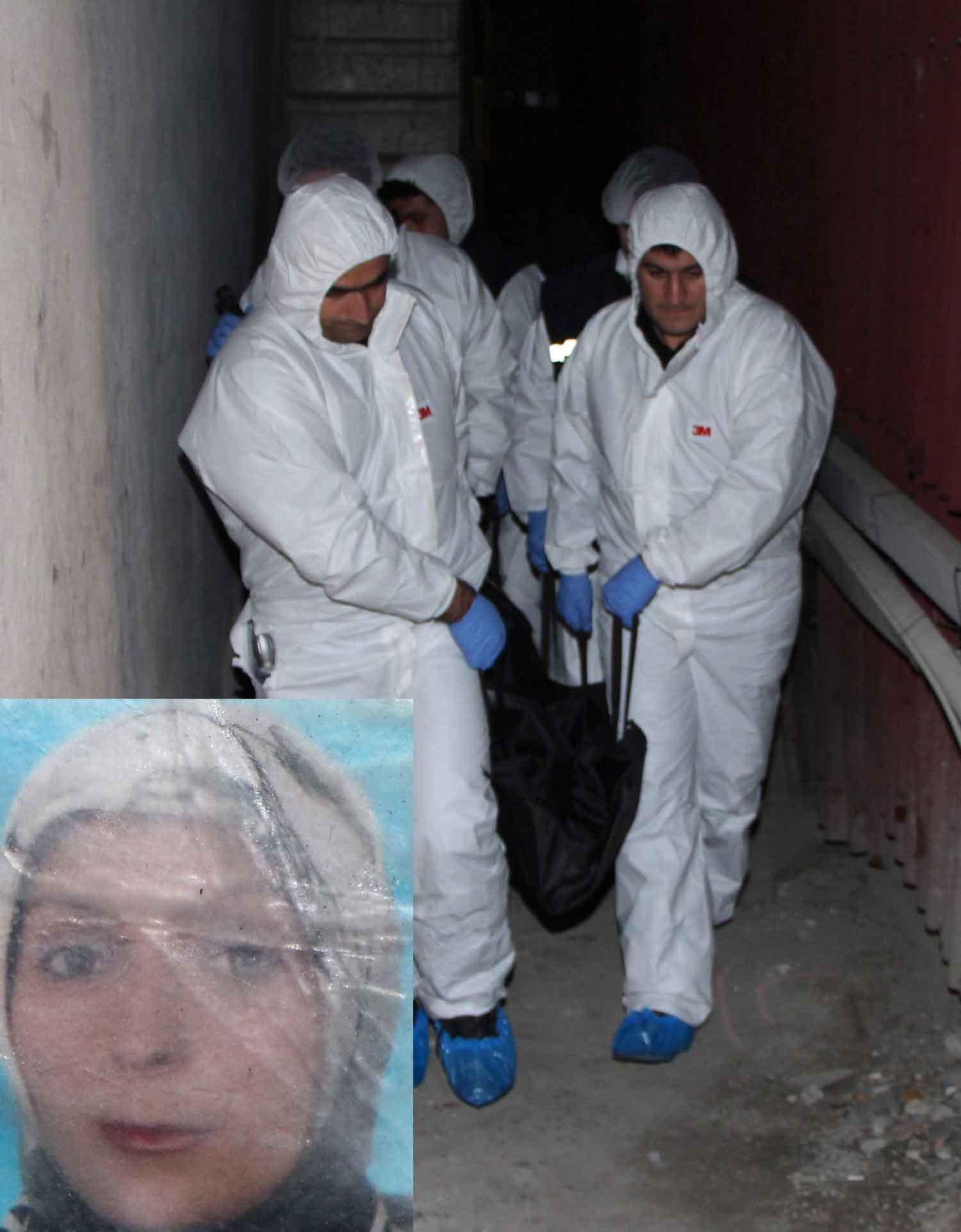 Beyoğlunda kadın cinayeti!