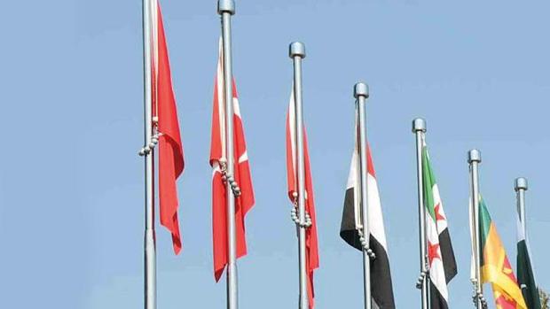 Çanakkalede ÖSO bayrağı çekildi!