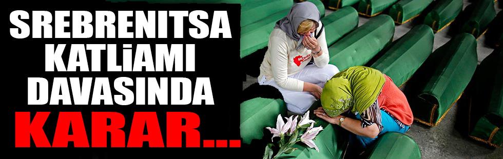 Srebrenitsa davasında karar açıklandı