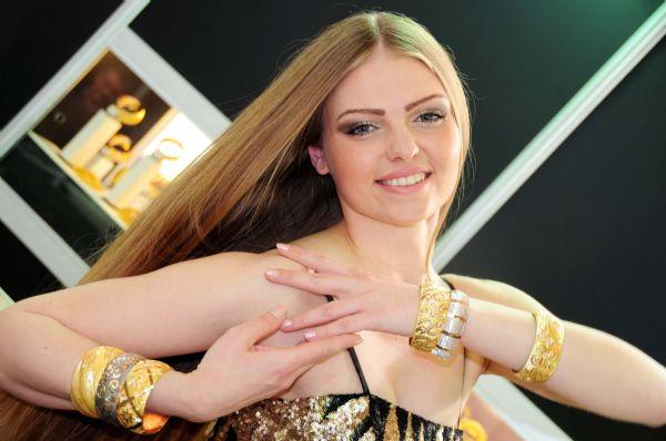Ortadoğu altın ve mücevher fuarı açıldı
