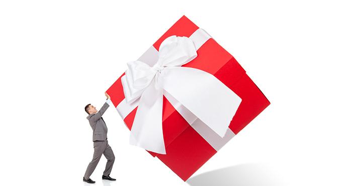Sadece hediye almak yetmiyor!