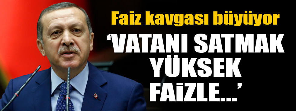 Erdoğan'dan çok sert sözler!