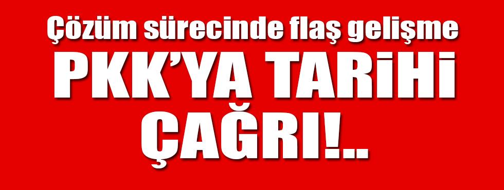 PKKya tarihi çağrı