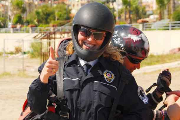 Kadın polisin inanılmaz ölümü