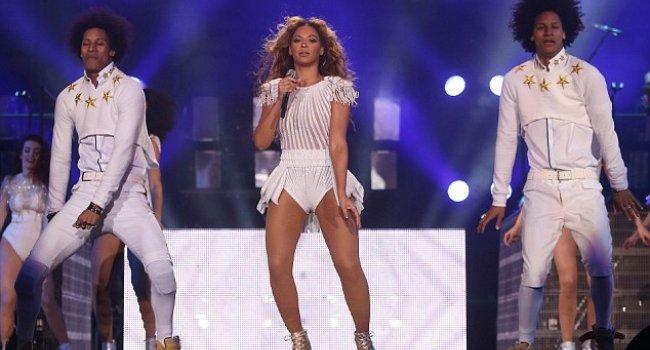 Beyoncenin çılgın şovu