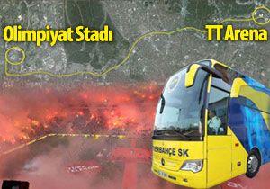 Fener otobüsü, Arenanın önünden geçer mi?